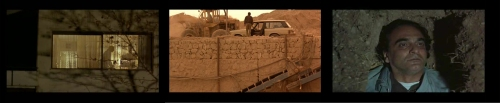 """Three Capsules -Footage from the movie """"Taste of Cherry"""" by Abbas Kiarostami"""